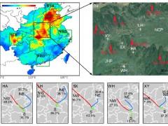 """""""全球变化及应对""""重点专项项目揭示黑碳气溶胶跨南北区域相互传输影响"""