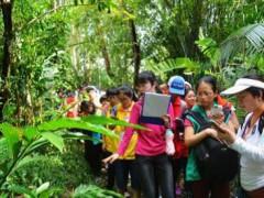 """海南兴隆热带植物园迎来北京青少年""""科技之星"""""""